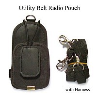 FDP Utility Belt Radio Pouch with harness