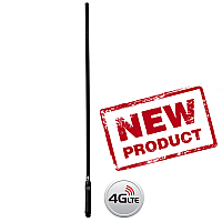 RFI CD7195 Black Bullbar Mounted 3G+4G+4GX Antenna