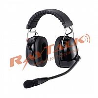 Heavy Duty Dual Earmuff Noise Cancelling Headset ( Over-head model )