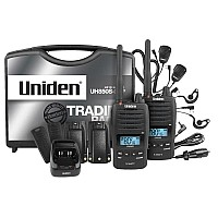 Uniden UH850S Tradies Pack 5W Uhf CB Waterproof Deluxe Twin Pack